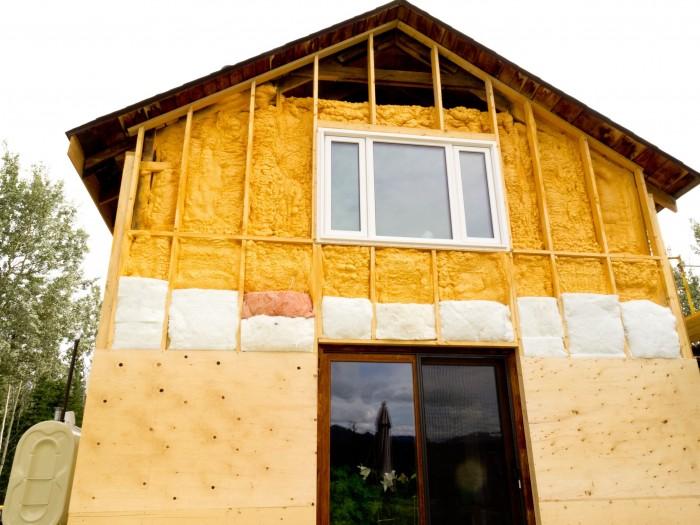 Poliuretano y casas pasivas