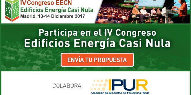 Se abre el plazo para la participación en el IV Congreso Edificios Energía Casi Nula