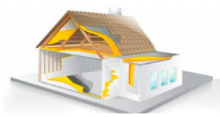 aislamiento con poliuretano  edificacion residencial
