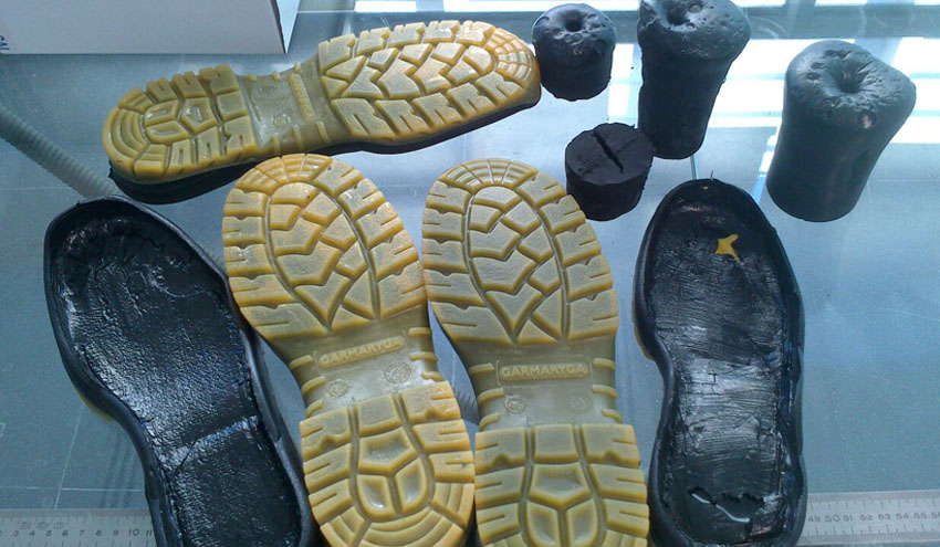 calzado poliuretano reciclado