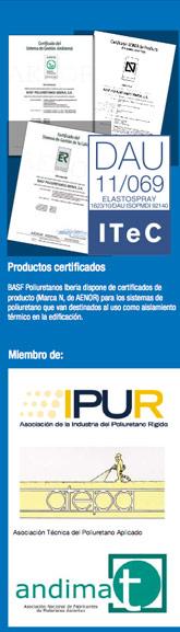 BASF-poliuretano-certificado-por-AENOR_IPUR