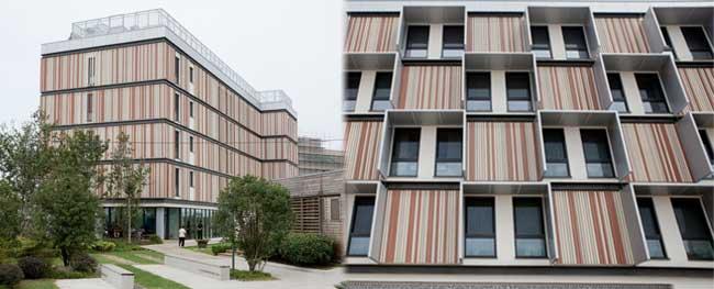 Casa pasiva China con poliuretano BASF