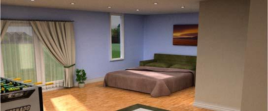 Casa-pasiva-de-poliuretano---dormitorios-confortables