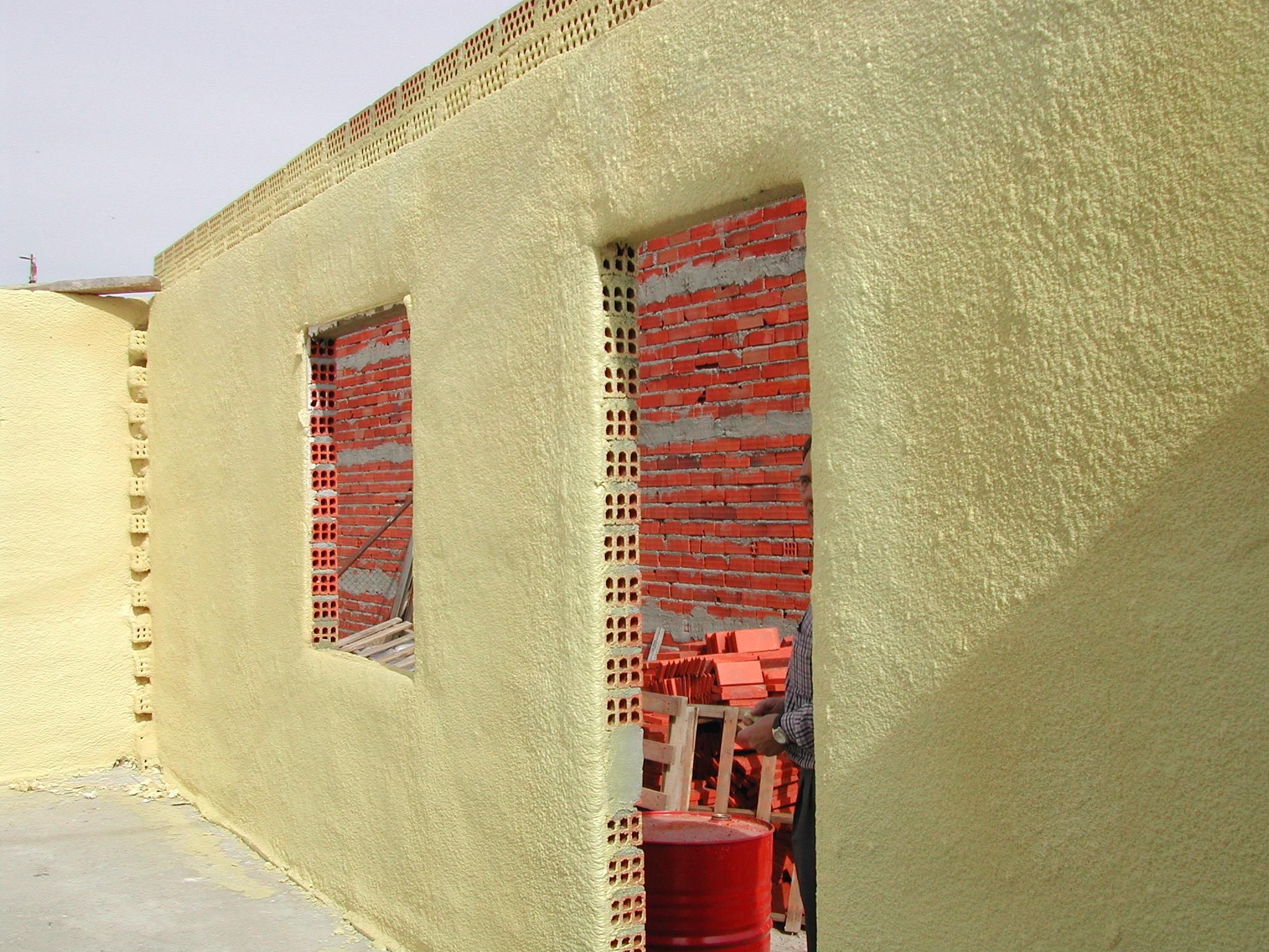 Aislamiento t rmico con poliuretano construcci n - Aislamiento termico para casas ...