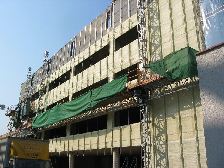 poliuretano proyectado en fachadas ventiladas