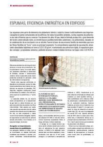 Revista-Ecoconstruccion-espumas-de-poliuretano-para-aislamiento-termico-y-acistico