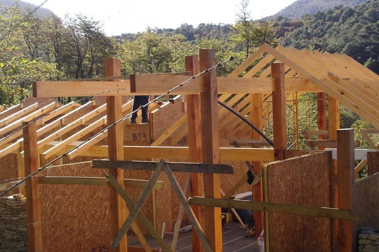 Paneles SIP: sistema de construcción en seco con poliuretano