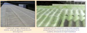 aislamiento poliuretano cubierta ligera exterior