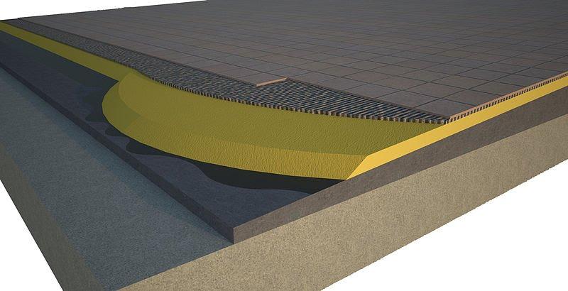 cubierta plana transitable