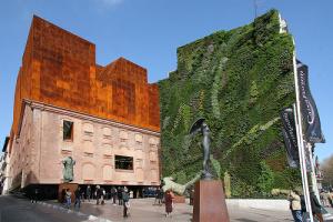 fachada medianera jardin vertical