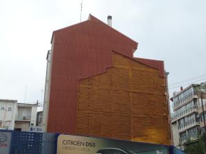 fachada medianera tipica constructiva