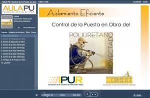 Control de la puesta en obra del Poliuretano Proyectado