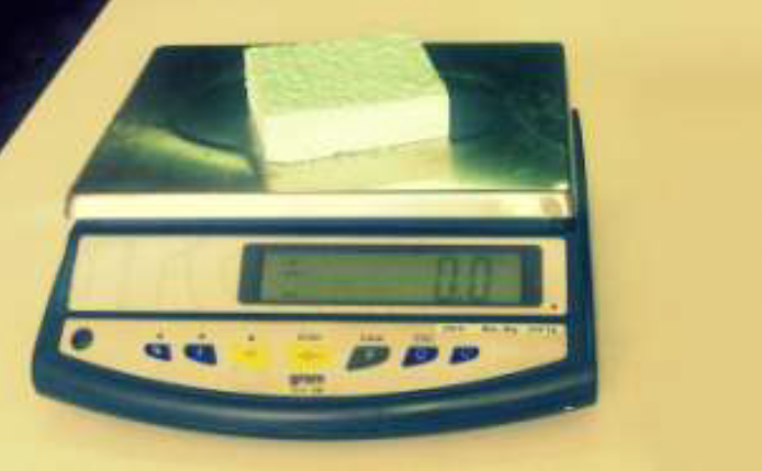 medicion densidad poliuretano proyectado