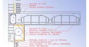 puntos singulares fachadas capialzados cajas persianas