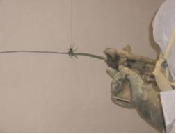 Inyección de poliuretano en cámaras