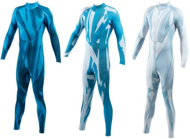 trajes anti tiburones con poliuretano